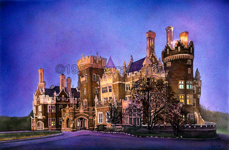Buildings laura marks for Casa loma mansion toronto
