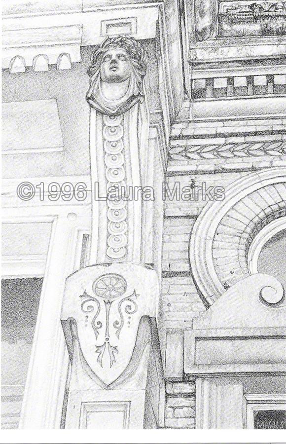 Doorway, Hampstead Town Hall
