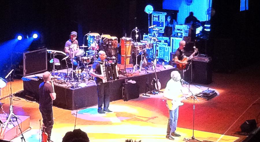 Gilberto Gil playing at Massey Hall November 2012