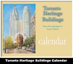 Toronto Heritage Buildings Calendar