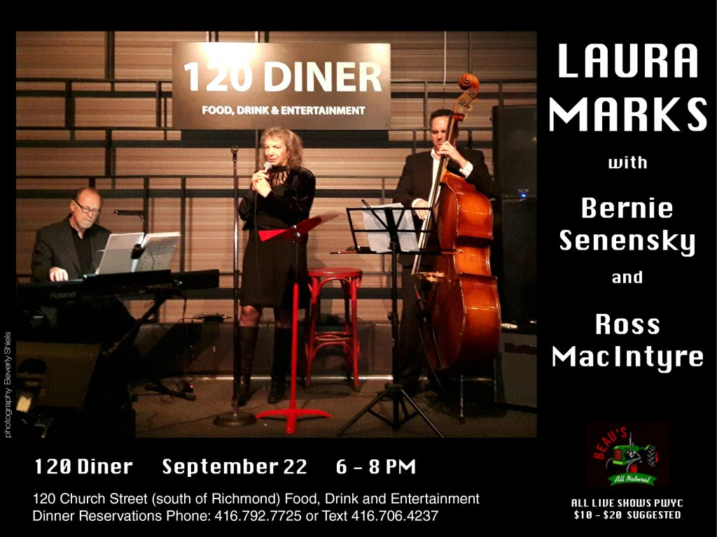 Laura Marks at 120 Diner, Sept 22, 2016