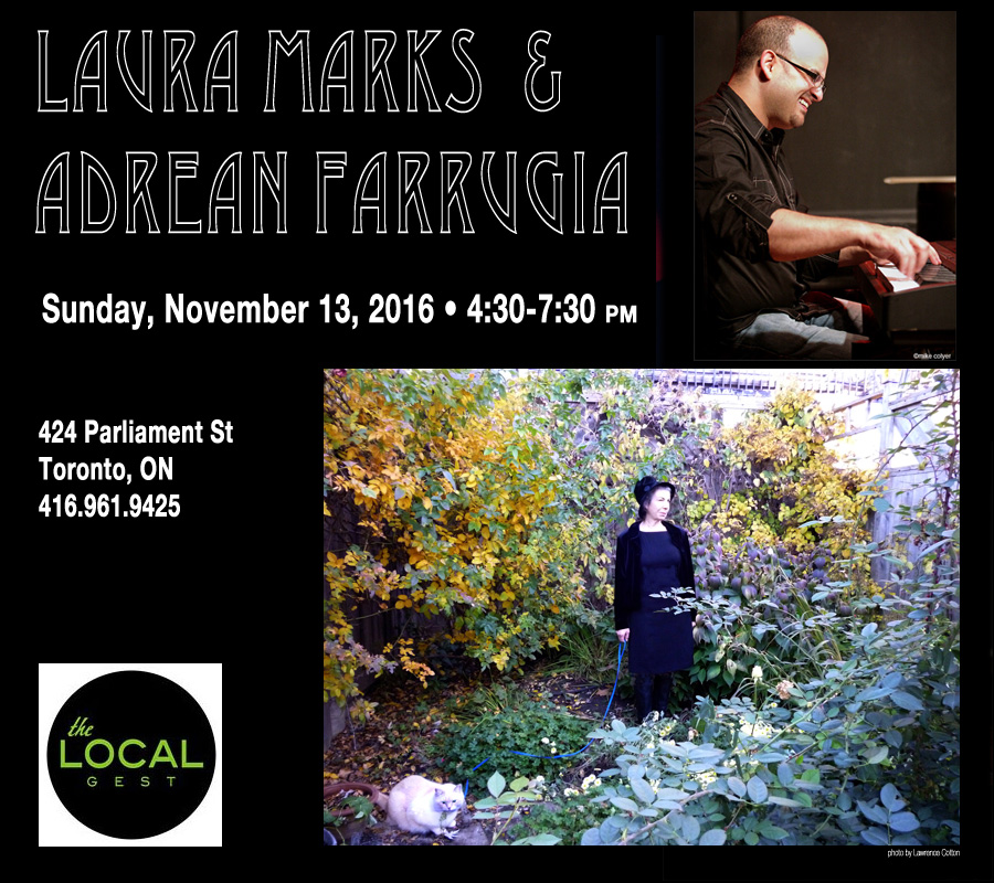 Laura Marks at Local Gest Nov 13, 2016