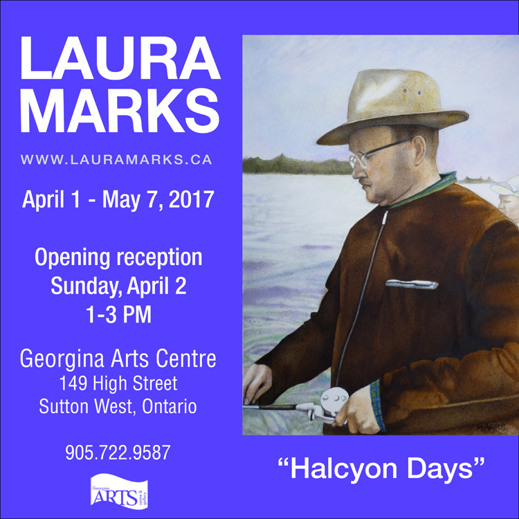 Laura Marks at the Georgina Arts Centre Exhibition Poster