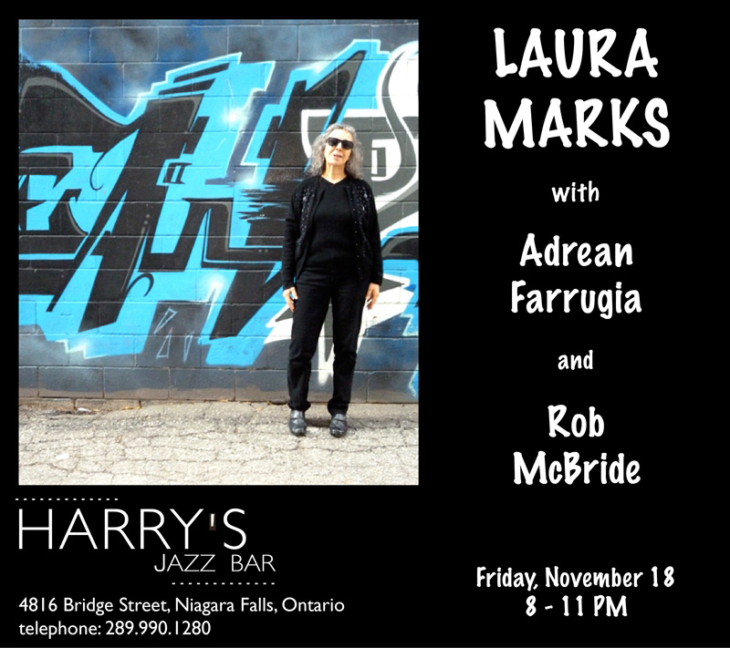 Laura Marks at Harry's Jazz Bar Nov 18