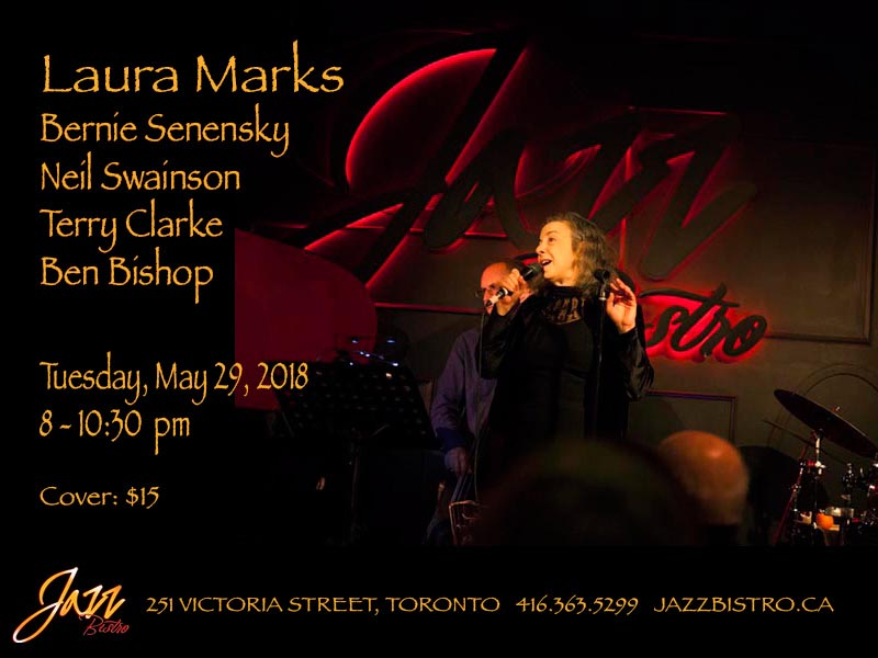 Laura Marks @ Jazz Bistro May 29, 2018