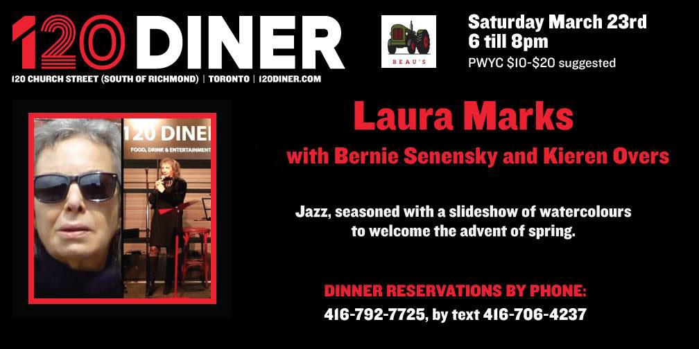 2019-03-23 Laura Marks 120-Diner Poster