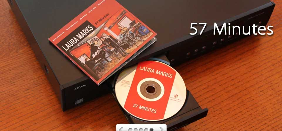 57 Minutes, Laura Marks CD