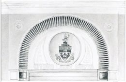 Crest, Hampstead Town Hall